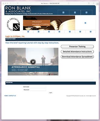 The old infospec site